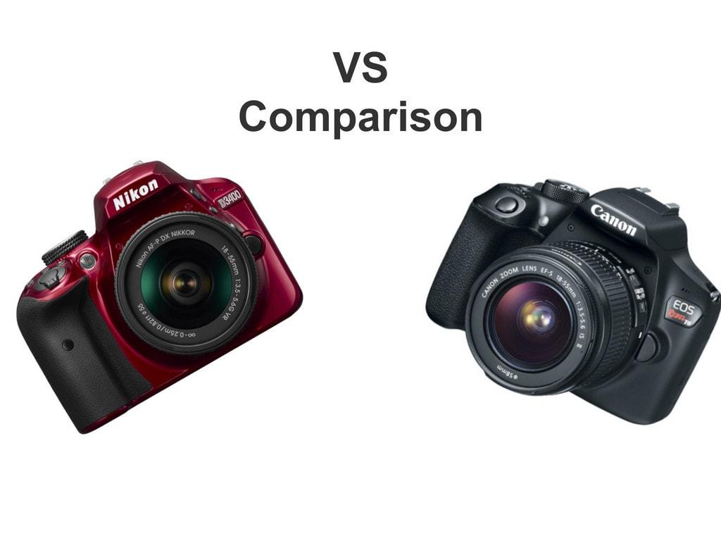 Nikon D3400 vs Canon Rebel T6 – A Comparison Review