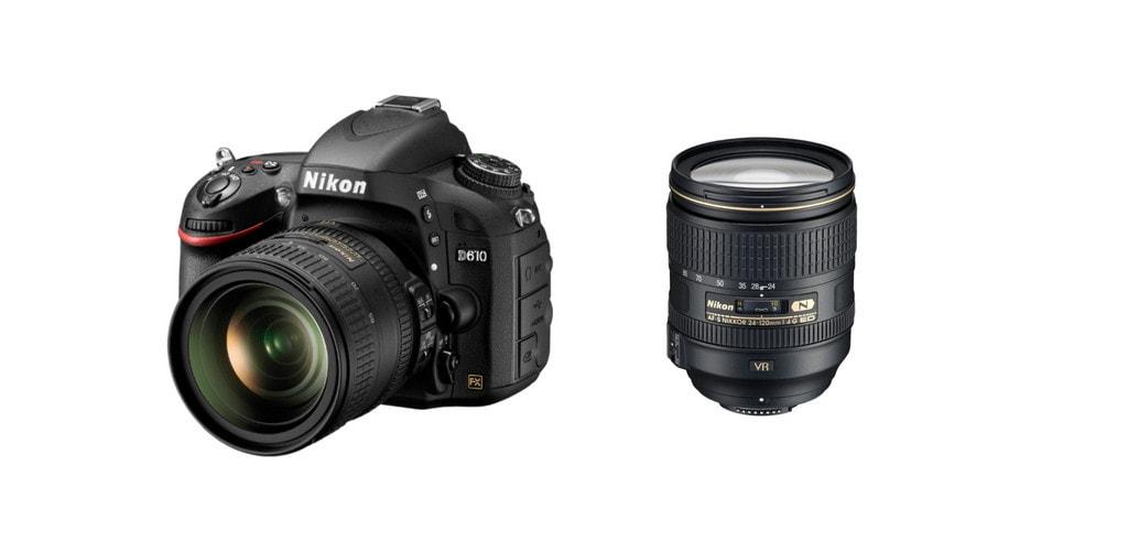 best lens for Nikon d610