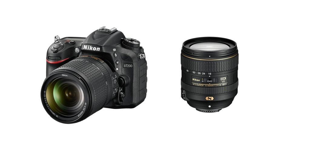 Nikon d7200 + Lens