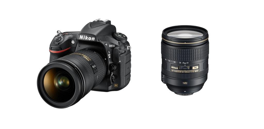 best lenses for Nikon d810