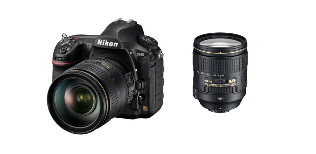 best lenses for Nikon d850