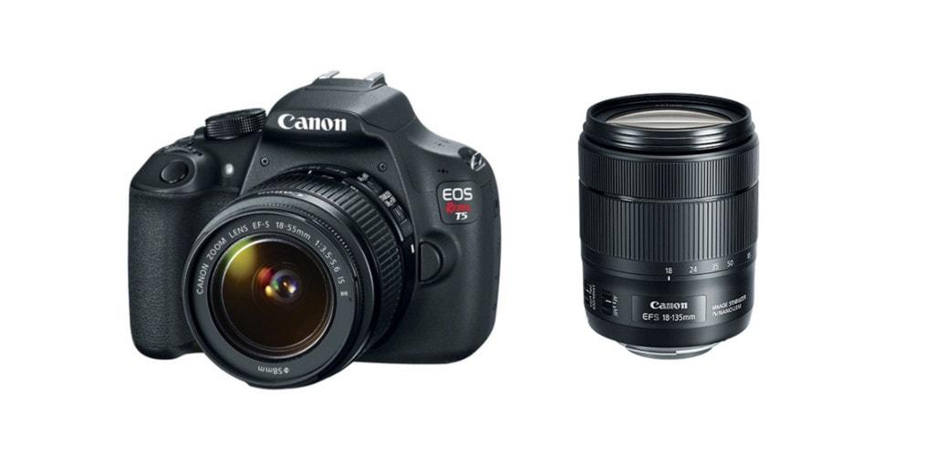 best lenses for canon t5