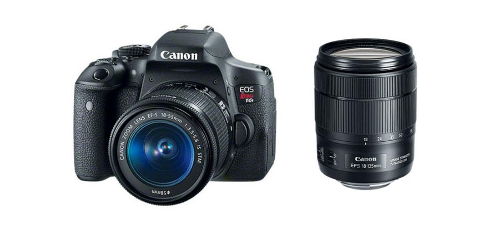 Canon t6i + lens