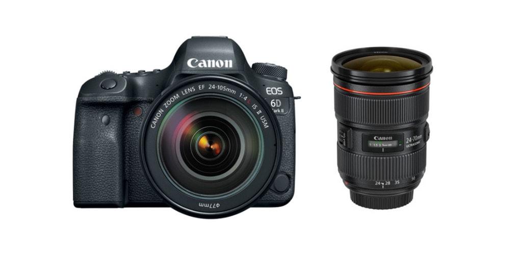 best lenses for canon 6D II