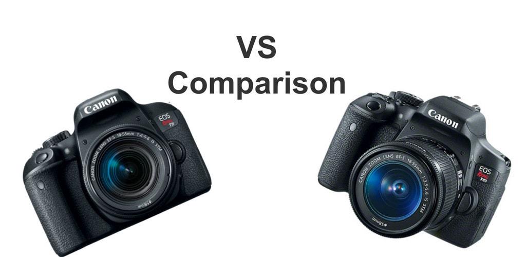 Canon T6i vs T7i