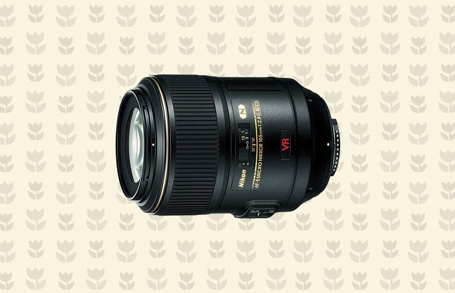 Nikon AF-S 105mm f/2.8G VR IF-ED Micro lens