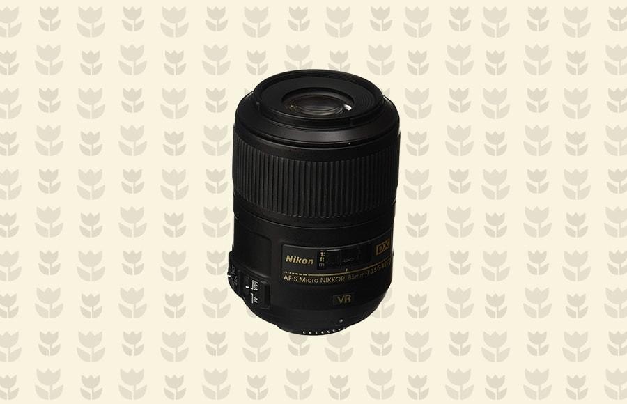 Nikon AF-S DX 85mm f/3.5G VR Micro lens
