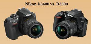 Nikon D3400 vs. D3500