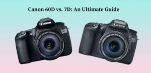 Canon 60D vs. 7D