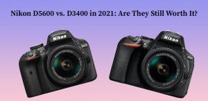 Nikon D5600 vs. D3400