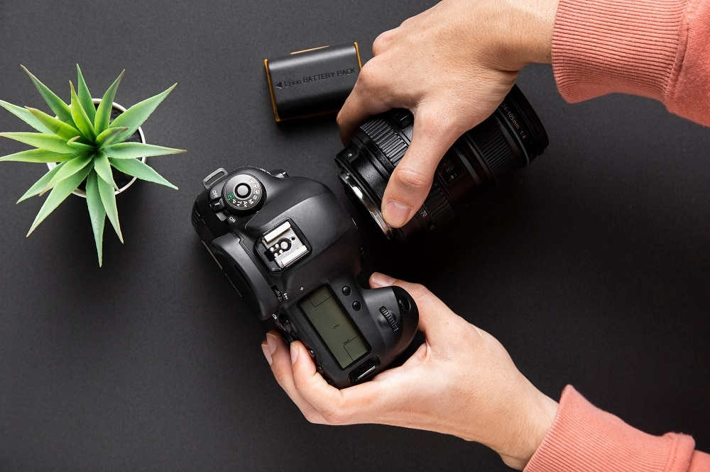 Camera and Lenses - How to do flat lay photography
