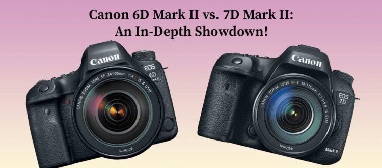 Canon 6D Mark II vs. 7D Mark II
