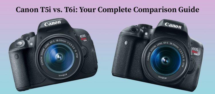 Canon T5i vs. T6i